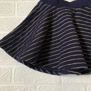 Gymboree Bottoms - NWT Gymboree Gold Stripe Skater Skirt